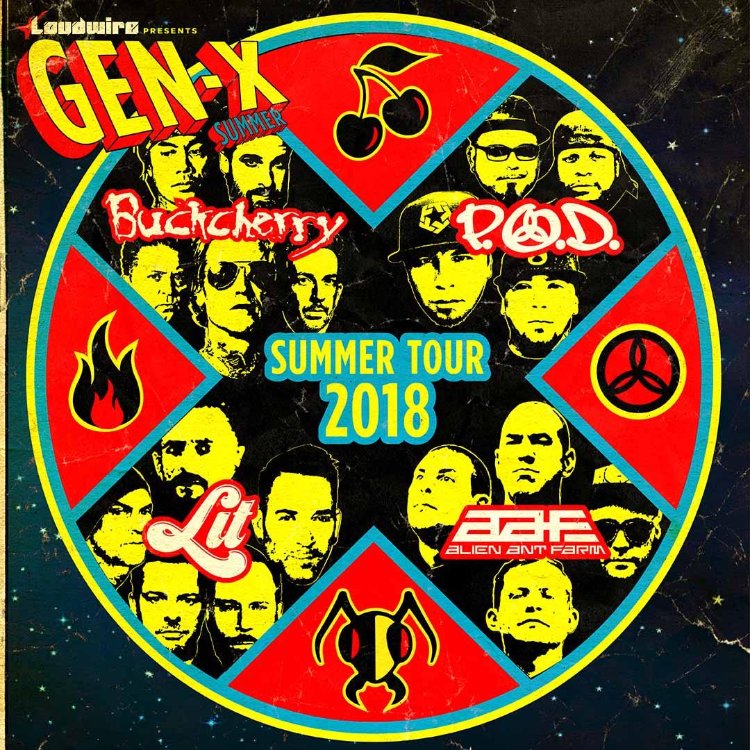 2018 GenX Tour